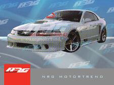 For Mustang 99-04 SL side skirts  Fiberglass body kit SL-FM-141S Free Shipping