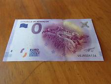 € BILLET 0 EURO SOUVENIR -- CITADELLE DE BESANCON 1 -  2017-1