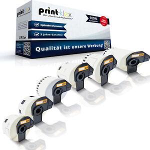 Etiketten für Brother P-Touch QL 1050 500 550 560 570 580 650 710 810 820 A BW N