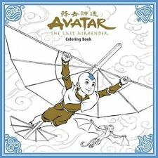 Adult Coloring Book NEW * Avatar - The Last Airbender * Fantasy Art Young Adult