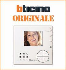 Videocitofono 2 FILI vivavoce colori ORIGINALE Classe 100V12B bticino 344502