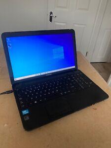 Toshiba C850 Laptop, Celeron 1000M @1.80GHz, 4GB, 320GB, Windows 10 - READ