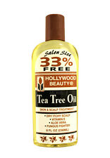HOLLYWOOD BEAUTY HAIR/SCALP/BODY TEA TREE OIL (BONUS 33% MORE) 8 OZ.