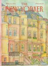 New Yorker COVER 05/14/1984 - Apartment Buildings -VAN RYNBACH