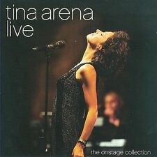 Live: the Onstage Collection by Tina Arena (CD/DVD, Jan-2010, 2 Discs, )NEW