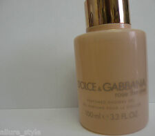 Dolce &Gabbana Rose The One Perfumed Shower Gel  3.3  fl.oz-100 ml NEW