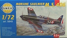 Smer 1/72 Morane Saulnier M S 406 Fighter 849