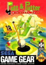 SEGA Game Gear Spiel - Putt & Putter: Miniature Golf Modul