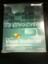 Microsoft Visual Studio .NET 2002 Enterprise Architect Deutsch mit MwSt-Rechnung