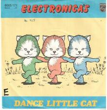 "<57-05> 7"" Single: Electronica's - Dance Little Cat"