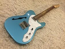 2012 Fender Squier FSR Vintage Modified Thinline Telecaster in Lake Placid Blue