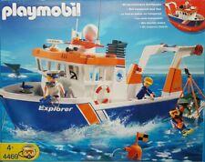 PLAYMOBIL 4469 Expeditionsschiff / Forschungsboot Erscheinungsjahr 2008 Neu/Ovp