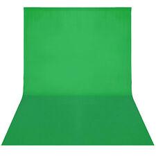 Hintergrundstoff Hintergrund Chromakey grün Baumwolle DHL 2,8M★