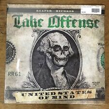 Take Offense United States Of Mind LP Punk Hardcore NYHC Backtrack Madball