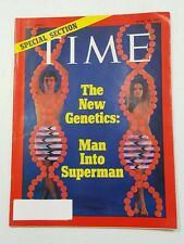 Time Magazine April 19 1971 The New Genetics Man Into Superman - English Weekly