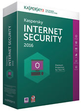 Kaspersky Labs Internet Security 2016 für 1 User, Windows 7, 8, 10 Antivirus