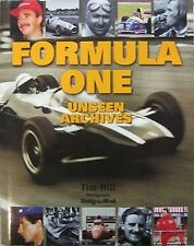 F1 FORMULA ONE THE UNSEEN ARCHIVES PHOTO HISTORY OF MOTOR RACING GRAND PRIX