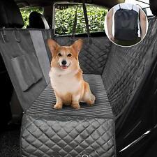 Upgraded Dog Seat Covers with Zippe 00004000 red Mesh Visual Window Waterproof Dog Hammock