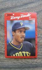 BARRY BONDS BASEBALL CARD PIRATES 90 DON RUSS 1990 #126