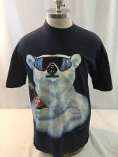 Vintage 1994 Coke Coca Cola Polar bear Graphic T Shirt Men's Xl Single Stitch