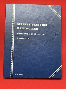 1937 - 1947 Liberty Walking Half Dollar Collection Book 30 Coins - FULL SET