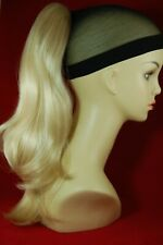 """Hairpiece Clip-on Baby Blonde #613- by Mona Lisa 18"""" Synthetic"""