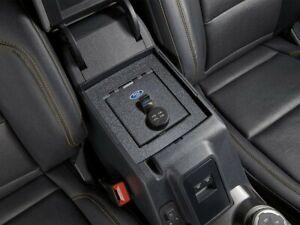 2021 Bronco OEM Ford Front Center Console Security Locking Vault Gun Safe