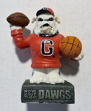 Georgia University Bulldogs Ceramic College Mascot Figurine by Talegaters