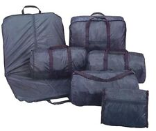 Luggage Set 6 pieces Suit Garment Bag 5 Tote Bag Parachute Nylon