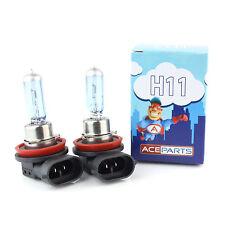 AUDI Q7 4L H11 55w Tinte Ultra Brillante Xenon HID Bombillas De Luz Antiniebla Delantera Par