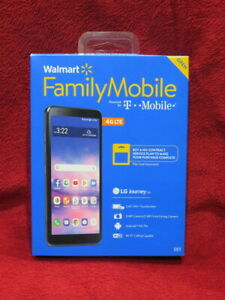 Brand New Walmart Family Mobile LG Journey No Contract Cell Phone - 16GB 4G LTE