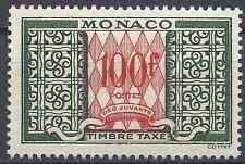 FRANCE MONACO TAXE N°39 - NEUF ** LUXE AVEC GOMME D'ORIGINE - COTE 16€