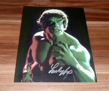 Lou Ferrigno *Hulk*, original signed Foto in 20x25 cm (8x10)