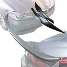 Painted E90 BMW OE Type 3-Series Trunk Spoiler & E90 Eyebrows Eyelids 06-11 §