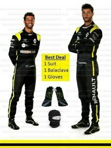 2020 f1 Daniel Ricciardo SUIT and Gloves Karting Suit and Daniel Karting Gloves