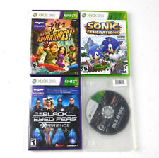 XBOX 360 GAMES LOT OF 4 SONIC GENERATIONS,ZONE OF THE ENDERS AND MORE...