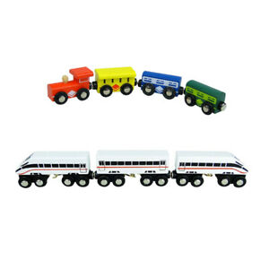 Bullet Train & Passenger Train - Compatible with Brio & Thomas - FREE POSTAGE