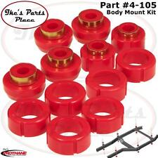 Prothane 4-105 Standard Cab/Body Mount Kit-12pc 87-96 Dodge Dakota 2WD-Poly