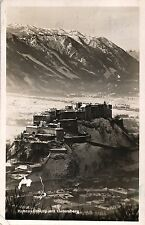 Hohensalzburg mit Untersberg, 1942