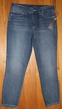 $134 NYDJ NOT YOUR DAUGHTER'S JEANS ANGIES  HEYBURN SUPER SKINNY JEANS SZ 10