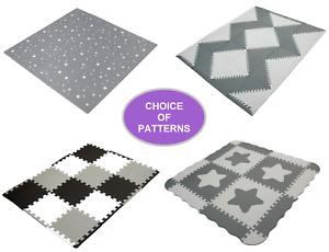 Edukit EVA Foam Gym Mat – Choice of Pattern – Durable Interlocking Floor Tiles