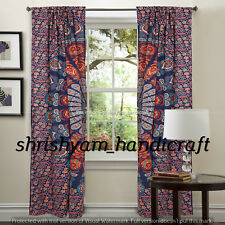 Hippy Curtains Indian Vintage Tapestry Boho Wall Hanging Mandala Hippie Curtain