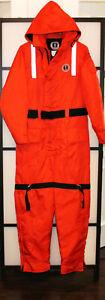 Mustang Survival Schwimmanzug Flotation Suit Überlebensanzug Neopren M  L XL