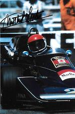 MICHEL LECLERE signé F1 WOLF-Williams FW05, GRAND PRIX DE MONACO 1976