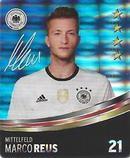 Sammelbild Nr 21 Marco Reus REWE Glitzer Sticker Fußball EM 2016 DFB