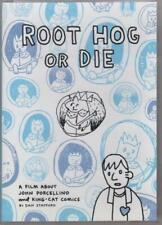 ROOT HOG OR DIE John Porcellino King-Cat documentary DVD Kilgore Books mini 2014