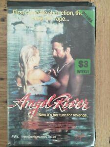 """""""Angel River"""" 1986 VHS Revenge Horror *Virgin* Movie I Spit On Your Grave RARE"""