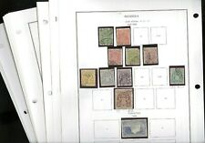 RHODESIA, Excellent Stamp Collection hinged/mounted on pages