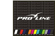 "PRO-LINE PROLINE 12"" BOAT TRUCK DECAL Marine Vinyl sticker"