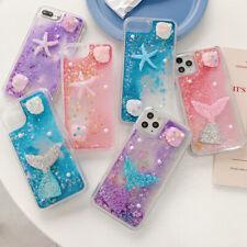 Handmade Starfish Mermaid Bling Liquid Glitter Quicksand Dynamic  Phone Case
